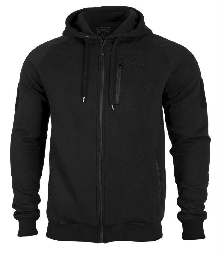 PENTAGON LEONIDAS TACTICAL HOODIE K08016-01 Schwarz Black Jacke Jacket.