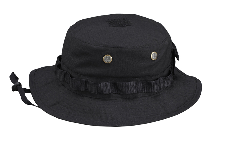 PENTAGON TACTICAL JUNGLE  HAT Boonie Schwarz Black Mütze K13014-01.