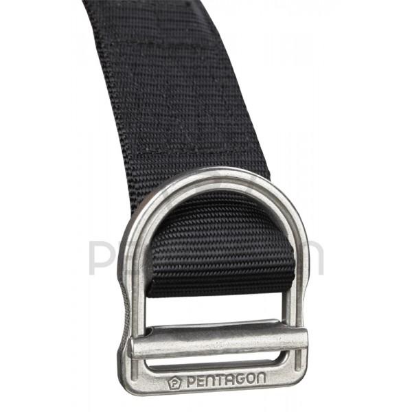 "PENTAGON Tactical OPERATOR Belt Gürtel 1,75"" K17047-01 Black Schwarz."